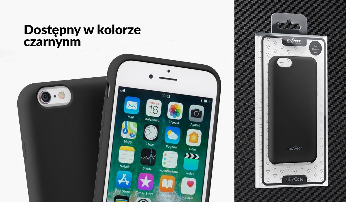 Silikonowe etui do Apple iPhone 6/6s Plus (5.5 cala) dostępne w wielu kolorach