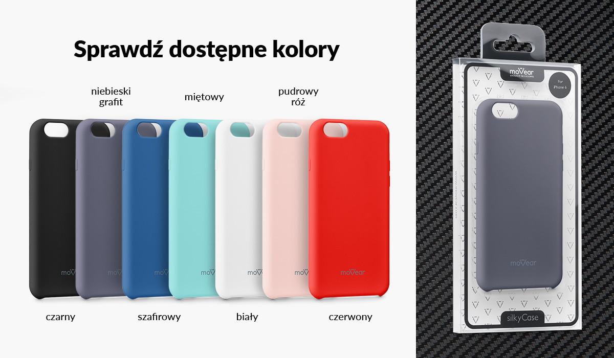 Silikonowe etui do iPhone 6 / 6s dostępne w wielu kolorach