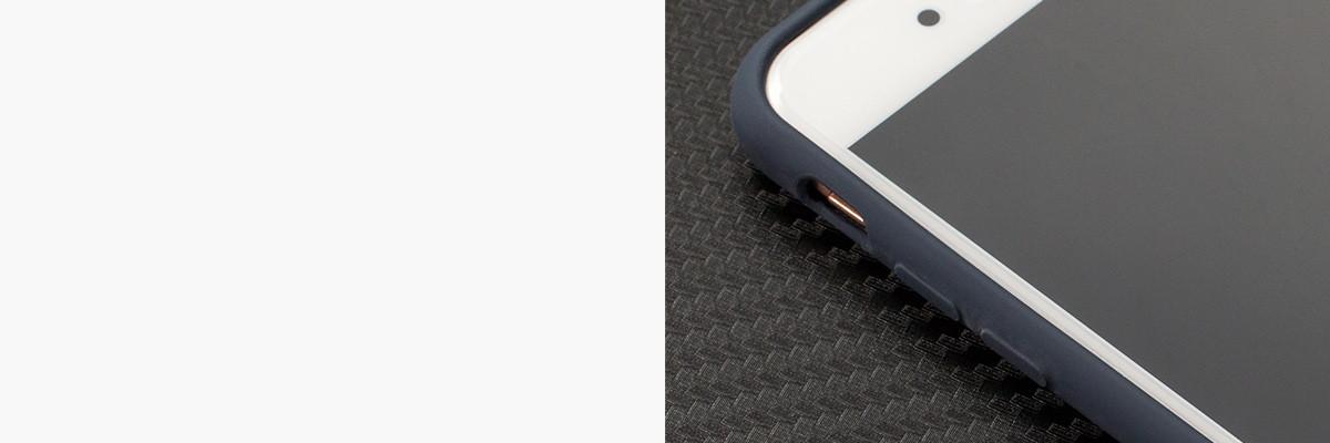 Miękko działające przyciski w etui moVear silkyCase na iPhone 6/6s 4.7