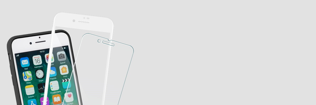 Użytkuj etui i swój Apple iPhone 8/7 Plus 5.5 cala razem ze szkłem moVear GLASS mSHIELD