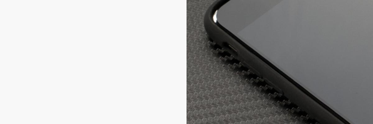 Miękko działające przyciski w etui moVear silkyCase na iPhone 8 Plus / iPhone 7 Plus