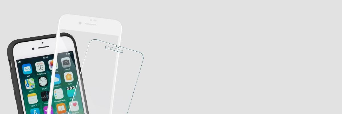 Użytkuj etui i swój iPhone 8 / iPhone 7 razem ze szkłem moVear GLASS mSHIELD