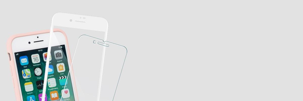 Użytkuj etui i swój iPhone 8/7 4.7 cala razem ze szkłem moVear GLASS mSHIELD