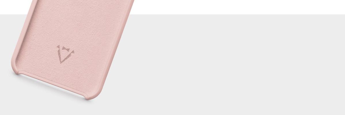 Wnętrze wykończone miękką mikrofibrą w kolorze etui plecków na iPhone 8 / iPhone 7