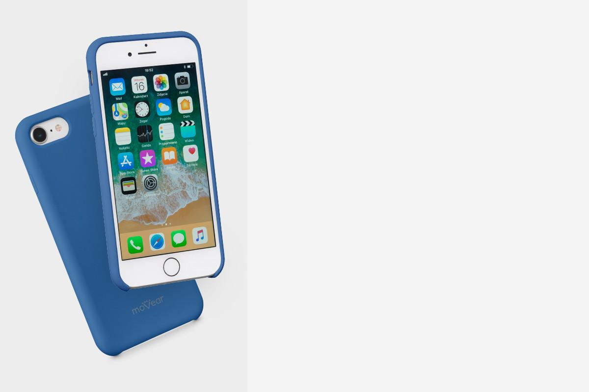 Etui silikonowe na: iPhone 8/7 4.7 cala