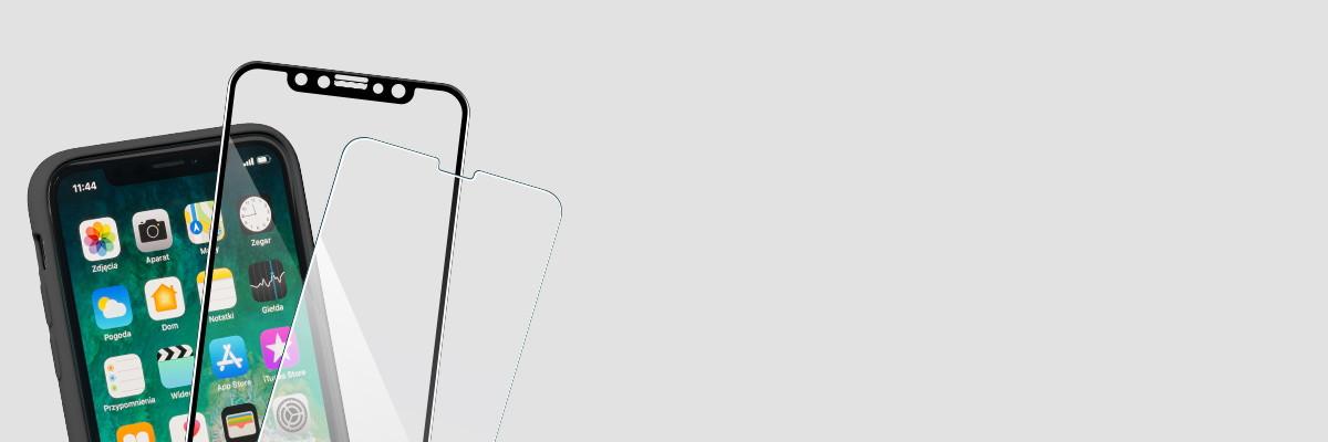 Użytkuj etui i swój iPhone X razem ze szkłem moVear GLASS mSHIELD