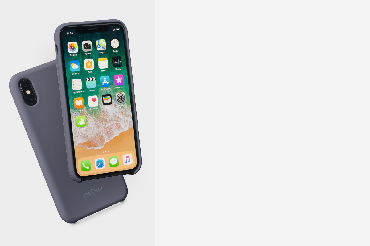 Etui silikonowe na: Apple iPhone X (A1865; A1901)