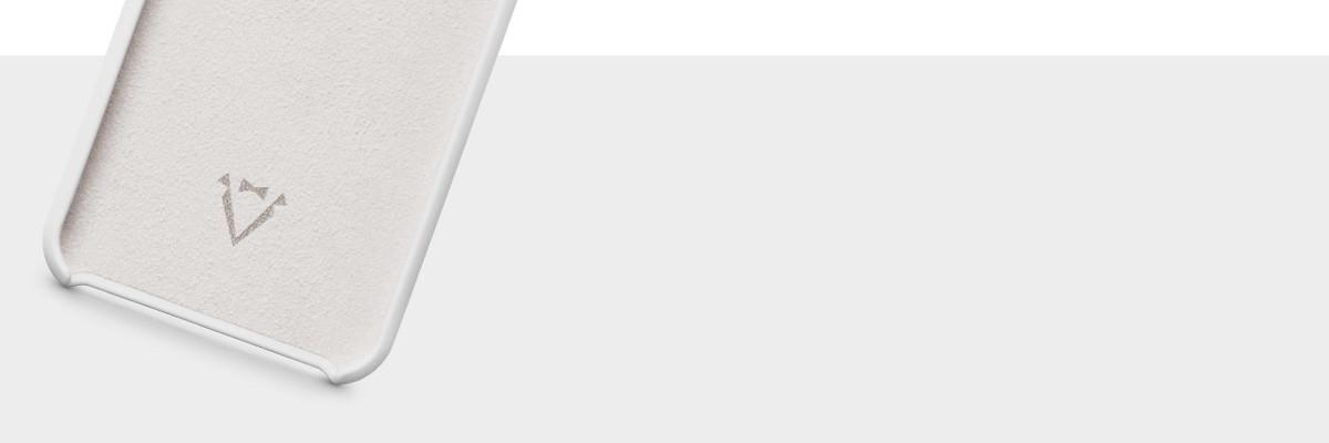 Wnętrze wykończone miękką mikrofibrą w kolorze etui plecków na iPhone X (5.8 cala)