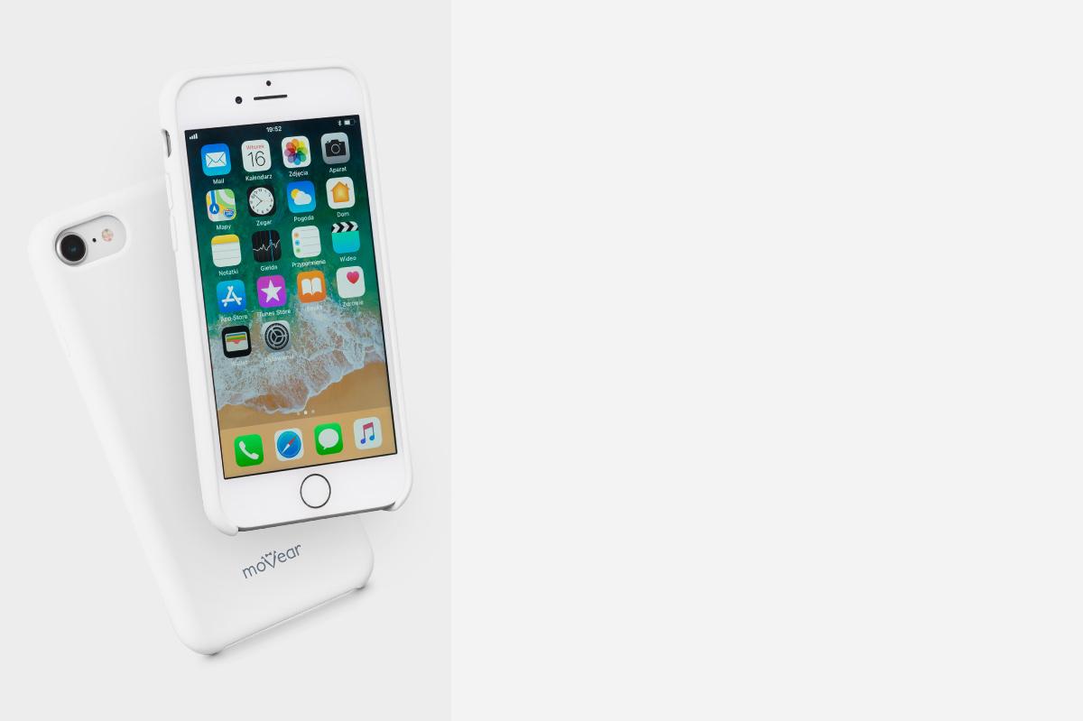 Etui silikonowe na: iPhone Xr