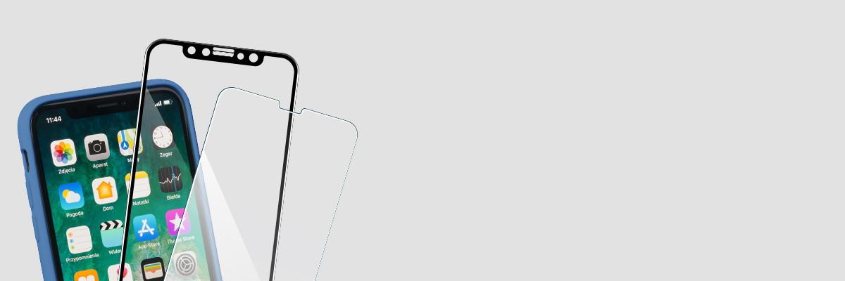 Użytkuj etui i swój iPhone Xs MAX 6.5 cala razem ze szkłem moVear GLASS mSHIELD