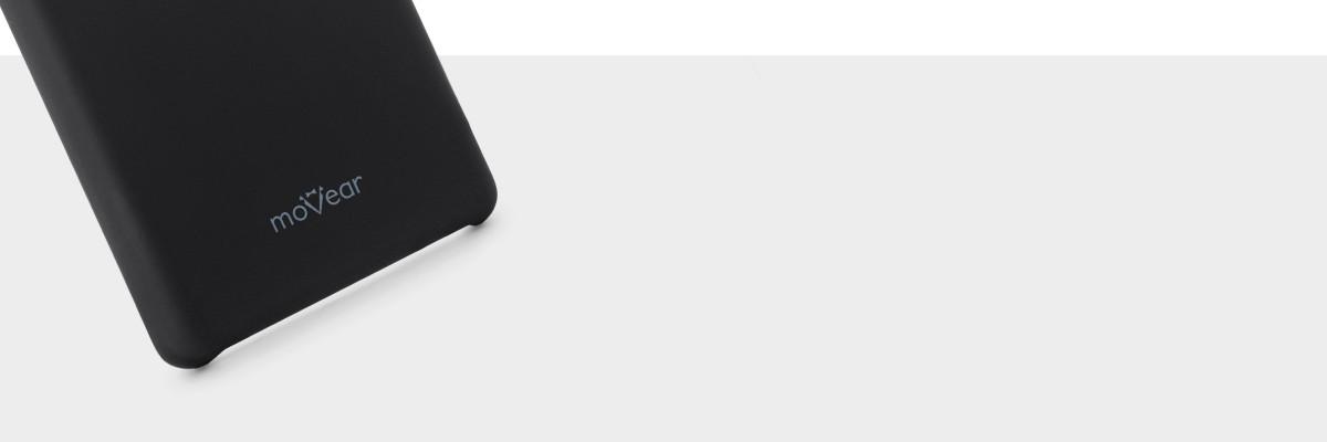 Miły w dotyku silikon pewnie leży w dłoni z  Galaxy Note 8