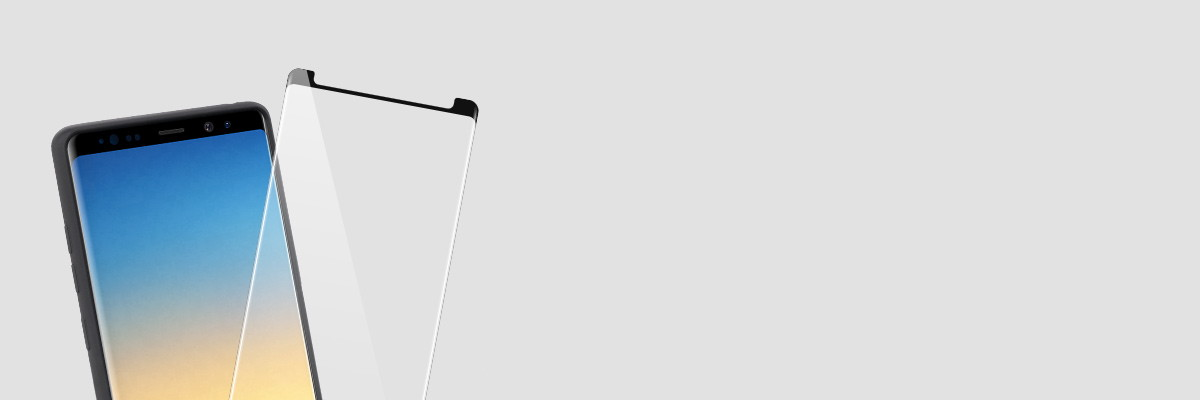 Silikonowe etui na  Samsung Note 8 N950F jest kompatybilne ze szkłami GLASS mSHIELD 3D oraz 2.5D