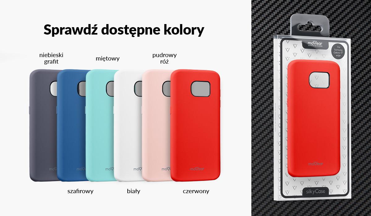 Silikonowe etui do Samsung S7 edge dostępne w wielu kolorach