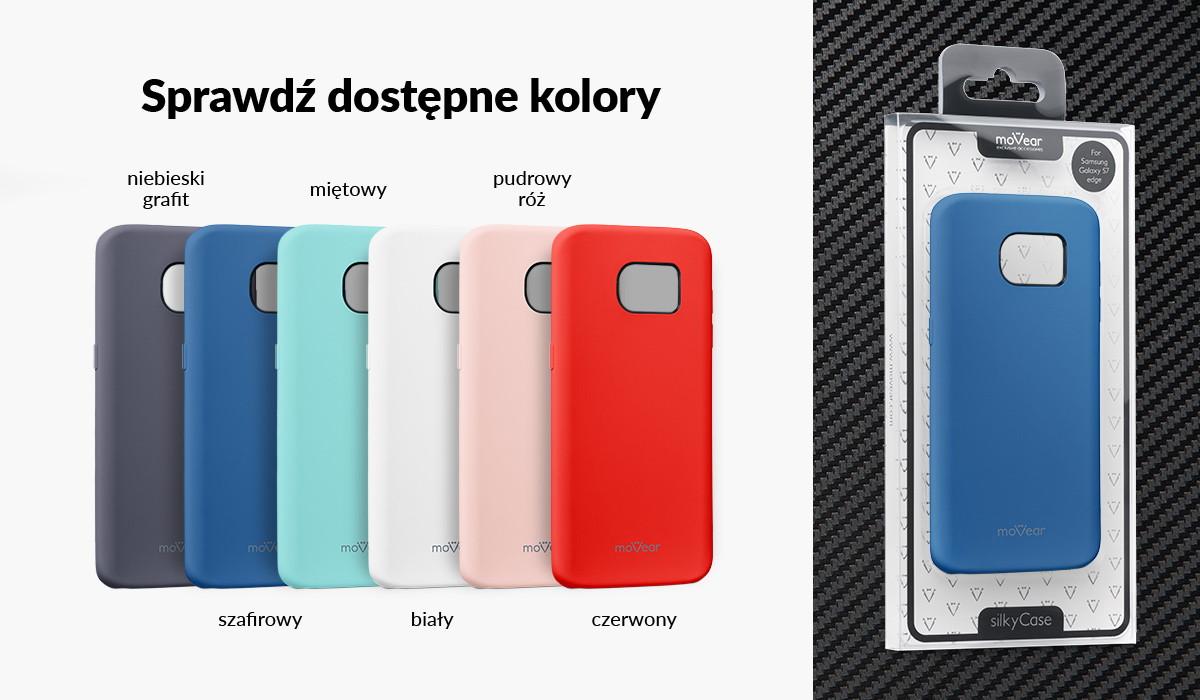 Silikonowe etui do Samsung Galaxy S7 edge (G935F) dostępne w wielu kolorach