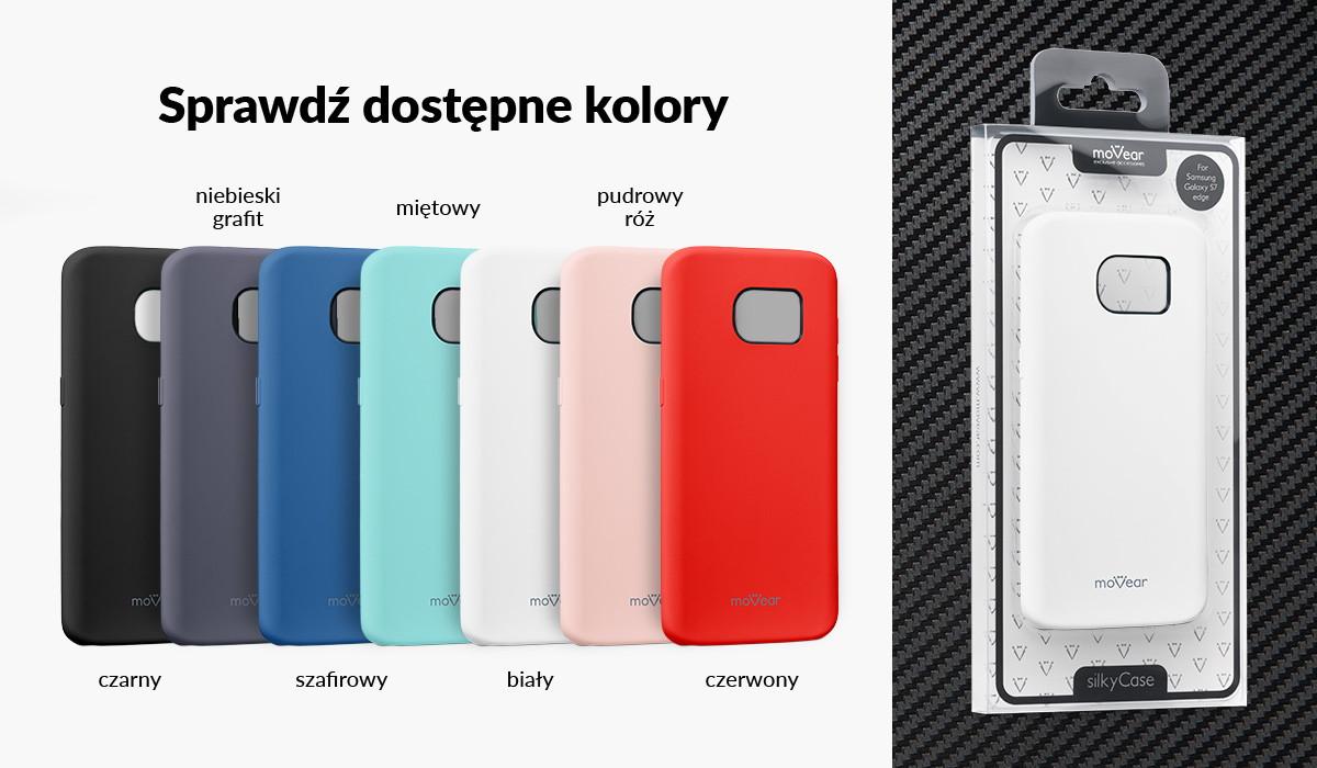 Silikonowe etui do Samsung Galaxy S7 edge dostępne w wielu kolorach
