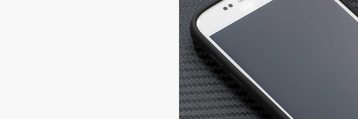 Miękko działające przyciski w etui moVear silkyCase na Samsung Galaxy S7
