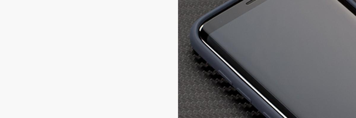 Miękko działające przyciski w etui moVear silkyCase na Samsung Galaxy S8+ (Plus)