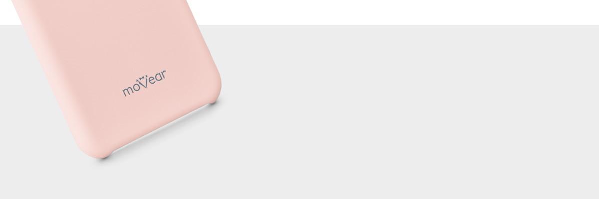 Miły w dotyku silikon pewnie leży w dłoni z  Samsung Galaxy S8+