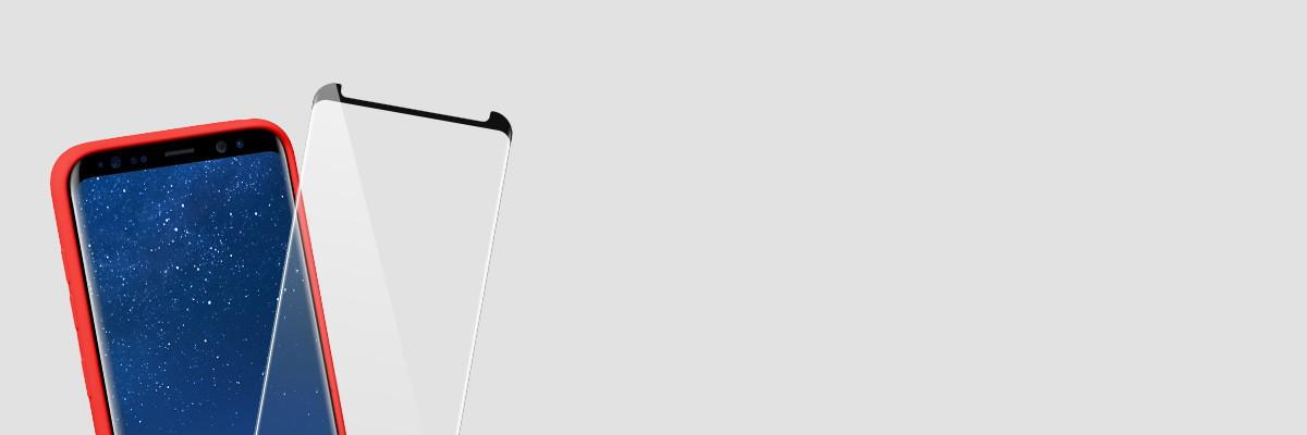 Użytkuj etui i swój Samsung S8+ razem ze szkłem moVear GLASS mSHIELD