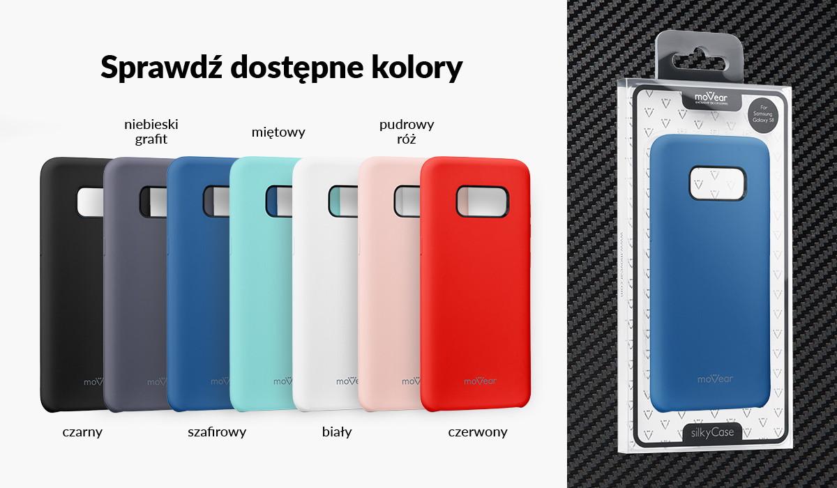 Silikonowe etui do Samsung Galaxy S8+ (G955F) dostępne w wielu kolorach