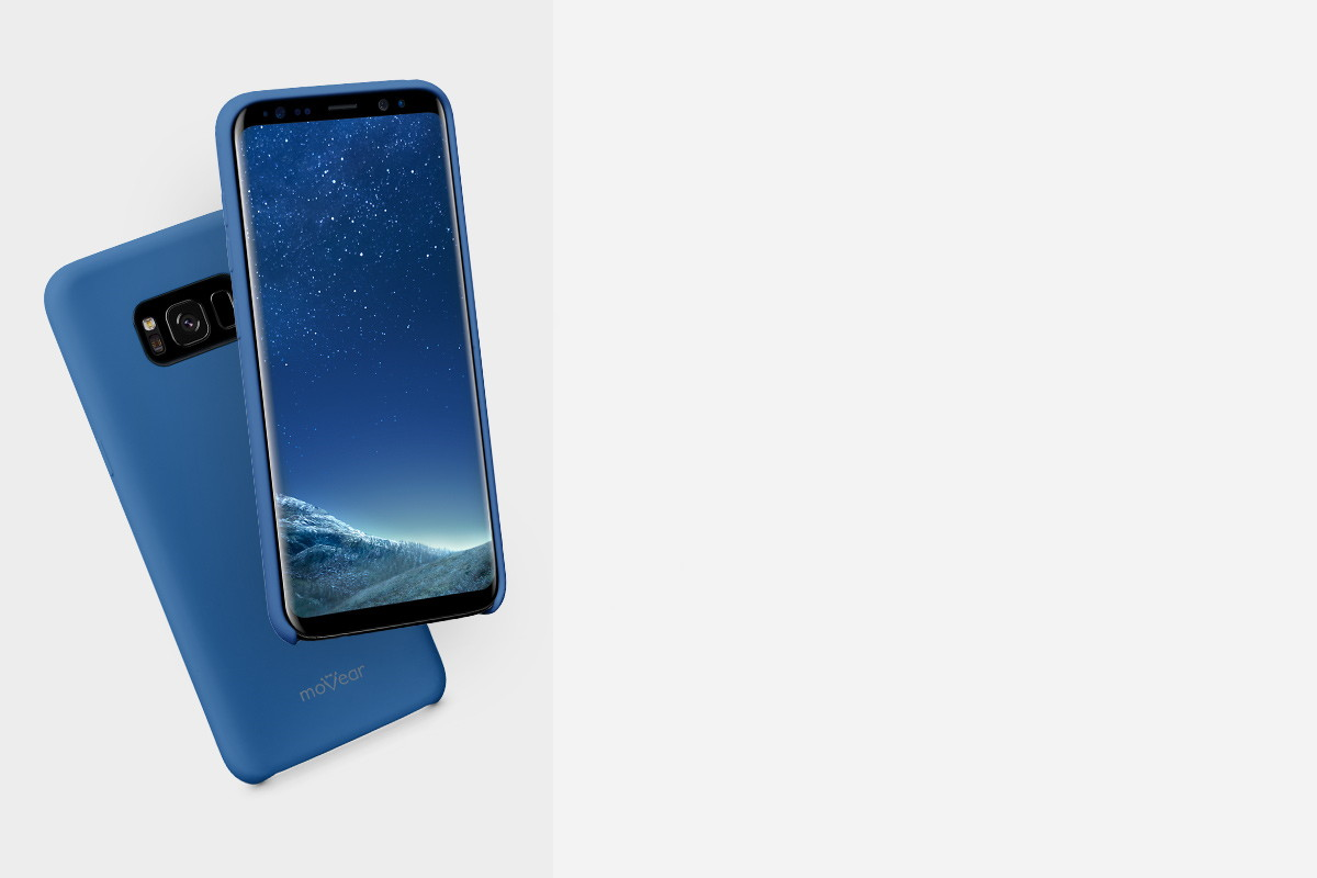 Etui silikonowe na: Samsung Galaxy S8+ (Plus)