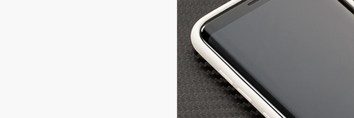 Miękko działające przyciski w etui moVear silkyCase na Samsung S8+