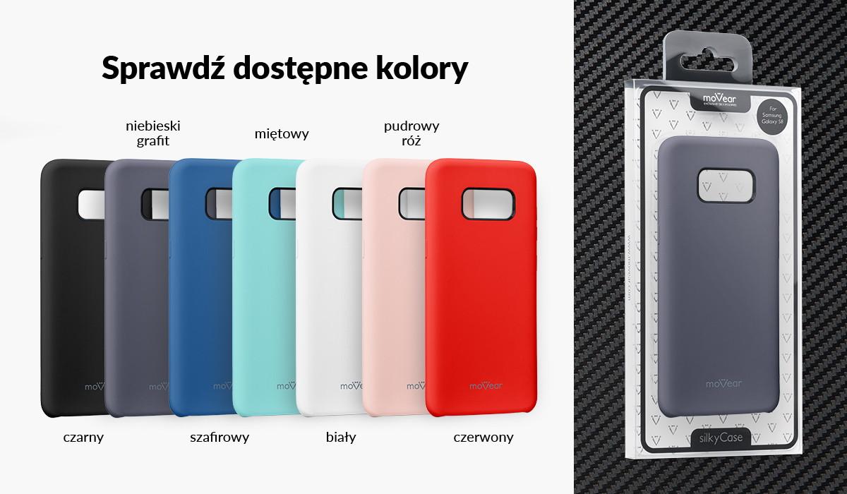 Silikonowe etui do Samsung Galaxy S8 (G950F) dostępne w wielu kolorach