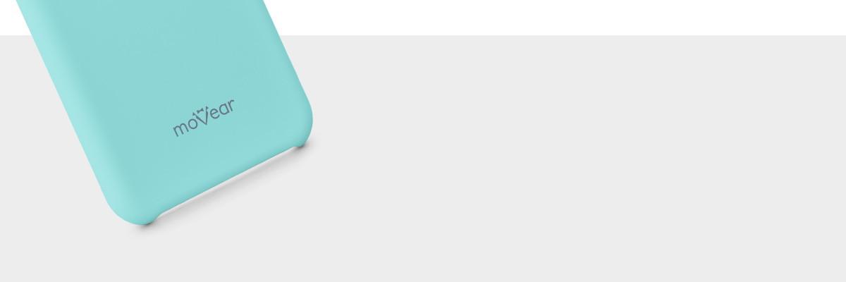 Miły w dotyku silikon pewnie leży w dłoni z  Galaxy S8