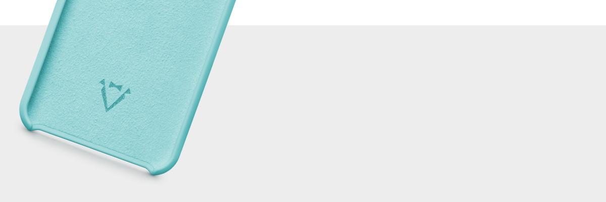 Wnętrze wykończone miękką mikrofibrą w kolorze etui plecków na Samsung S8