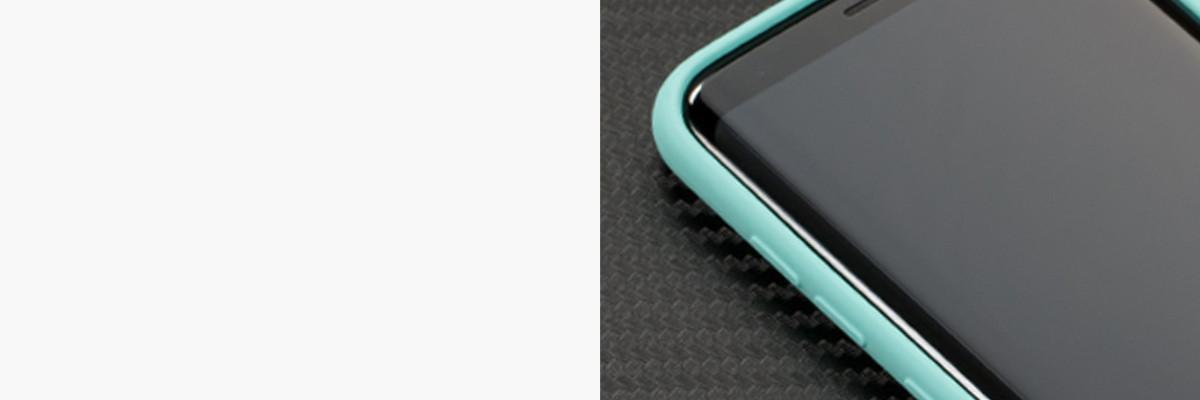 Miękko działające przyciski w etui moVear silkyCase na Samsung S8