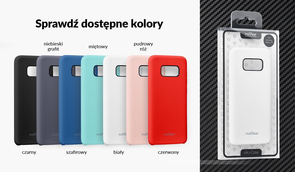 Silikonowe etui do Samsung Galaxy S8 dostępne w wielu kolorach